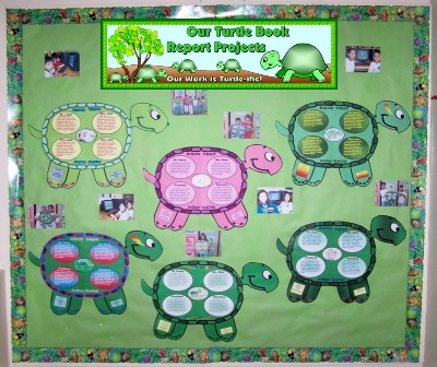 Turtle Book Report Projects and Templates For Elementary School Students