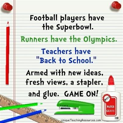 Teachers Have Back To School