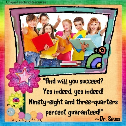Dr Seuss Quotes - And will you succeed? Yes indeed, yes indeed! Ninety-eight and three-quarters percent guaranteed!