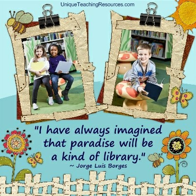 Quotes About Libraries - I have always imagined that paradise will be a kind of library. Jorge Luis Borges