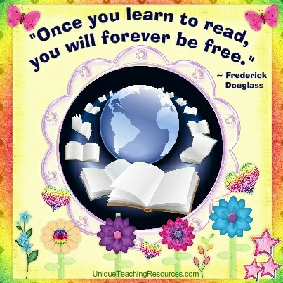 Quotes About Reading - Once you learn to read, you will forever be free. Frederick Douglass