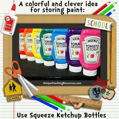Teacher Tips For Storing Paint In Your Classroom
