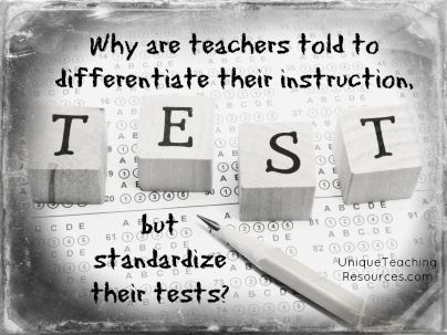 Quote About Standardized Tests and Education