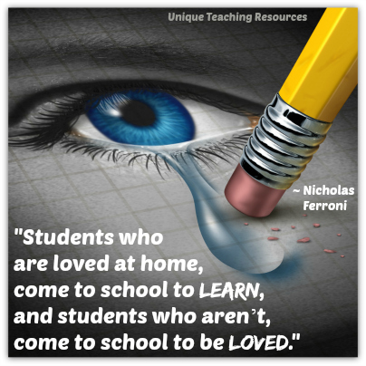 Educaational Quote About Students, Love, and Learning