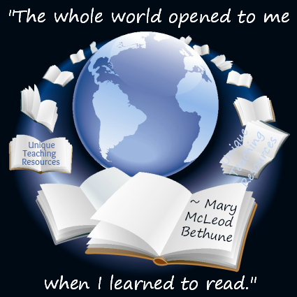 Quote About Reading Mary McLeod Bethune