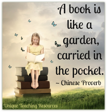 Quote About Reading Books - A book is like a garden, carried in the pocket.