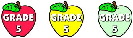 Apple Bulletin Board Display Ideas for Grade 5 Teachers