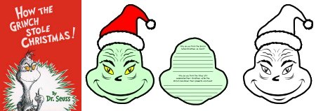 How the Grinch Stole Christmas Book Cover and Project