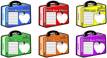 Julie Danneberg Back to School First Day Jitters Lesson Writing Templates