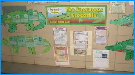 Enormous Crocodile by Roald Dahl Student Group Projects