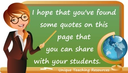 Quotes of the Day About Education and School For Teachers