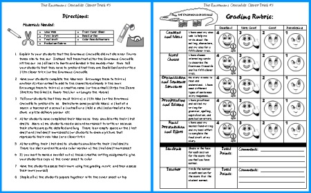 The Enormous Crocodile Clever Trick Creative Writing Grading Rubric