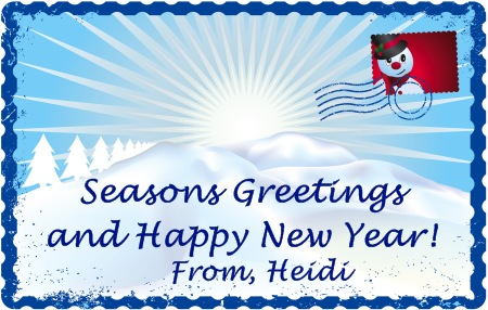 Seasons Greeting from Heidi at Unique Teaching Resources