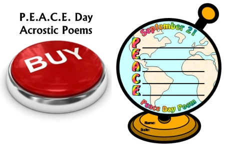 Buy Peace Day September 21 Poetry Lesson Plans Now