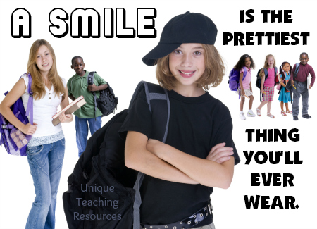 Funny quote about smiles
