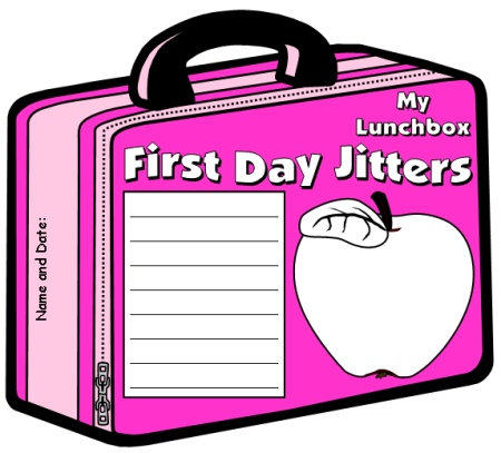 Julie Danneberg Back to School First Day Jitters Lesson Activity