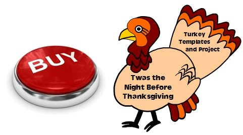 Twas the Night Before Thanksgiving Activities and Project Templates Dav Pilkey