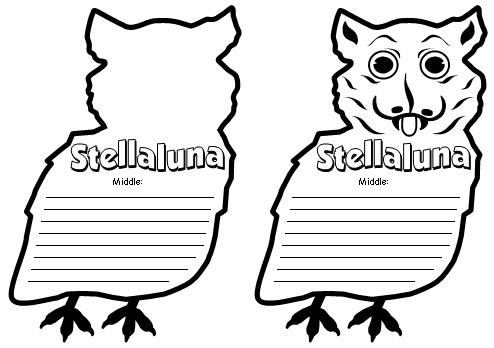 Stellaluna Book Report Project Templates