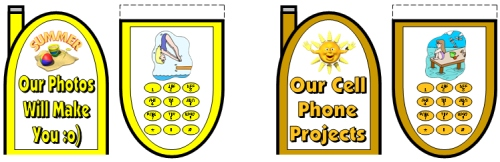 Cell Phone Templates and Project Ideas for Kids
