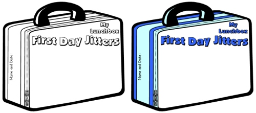 Julie Danneberg Back to School First Day Jitters Lesson Drawing Worksheets and Templates