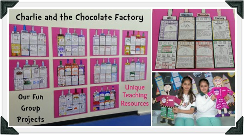 Charlie and the Chocolate Factory Examples of Fun Group Projects