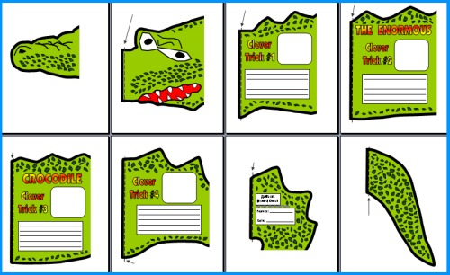 Enormous Crocodile Project Templates and Worksheets
