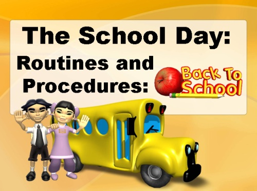 Open House Powerpoint Presentation for Parent School Procedures