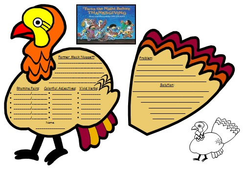 Twas the Night Before ThanksgivingLesson Plans, Activities, and Fun Projects for Students, Dav Pilkey