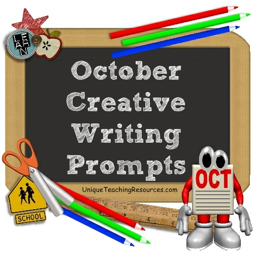 Halloween and October Writing Prompts and Creative Journal Ideas