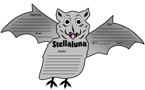 Stellaluna Fun Activities and Projects for Elementary School Students