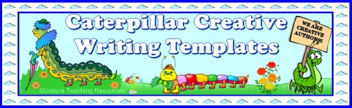 Caterpillar Creative Writing Templates and Fun Projects For Elementary School Students