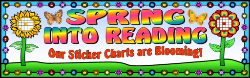 Spring Into Learning Banner for Bulletin Boards