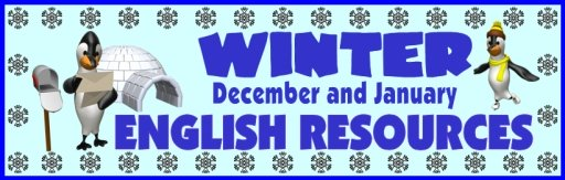 Winter English Teaching Resources