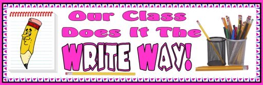 Free Creative Writing Teaching Resources Bulletin Board Display Banner