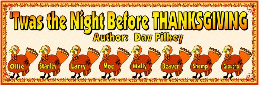 Twas The Night Before Thanksgiving Banner