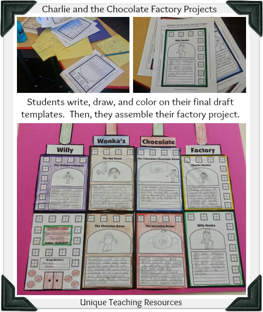 Creative Group Project Ideas For Charlie and the Chocolate Factory