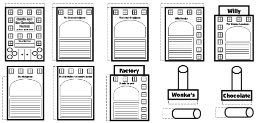 Charlie and the Chocolate Factory Fun Group Project Templates and Lesson Plans