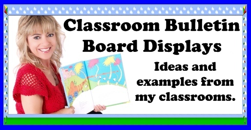 Classroom bulletin board display ideas from Unique Teaching Resources