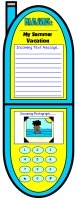 Cell Phone Creative Writing Templates and Projects