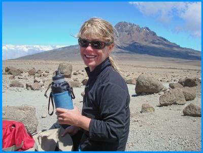 Heidi McDonald Mt. Kilimanjaro Hike, Tanzania