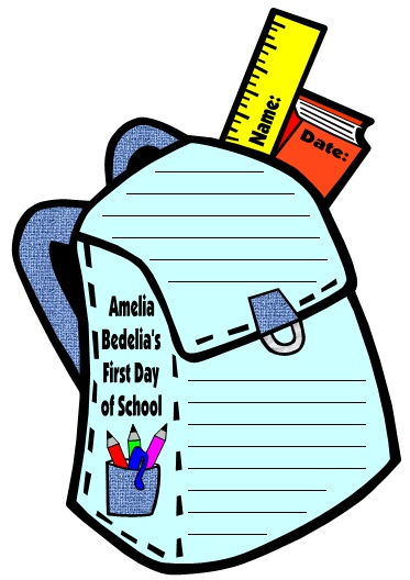 Amelia Bedelia's First Day of School Student Projects and Writing Activities Herman Parish
