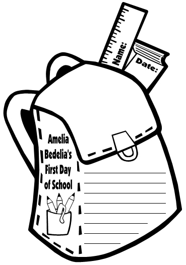 Amelia Bedelia Elementary Student Creative Writing Projects