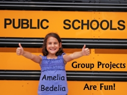 Amelia Bedelia First Day of School Fun Projects for Students
