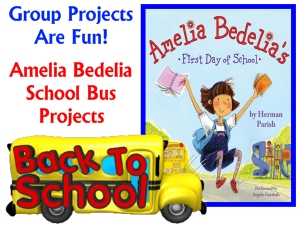 Amelia Bedelia First Day of School Herman Parish Teaching Resources and Projects