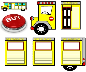 Buy Amelia Bedelia First Day of School School Bus Templates Now