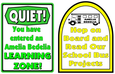 Amelia Bedelia's First Day of School Bulletin Board Display Ideas, Pictures, and Examples
