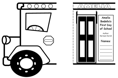 Amelia Bedelia Group Project School Bus Templates