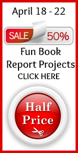Click Here To Go To 50% Off Book Report Sale