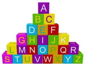 ABC Reading Blocks For Elementary School Students