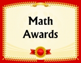 Go To Math Awards Certificates Page